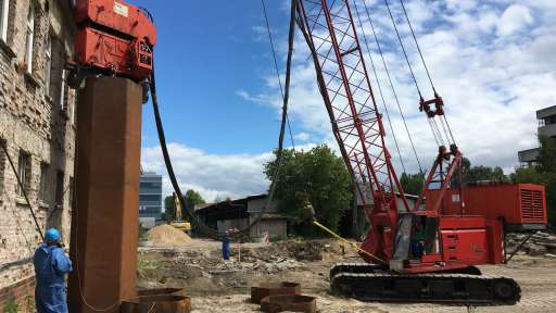 Bodensanierung HE11 in Berlin-Adlershof